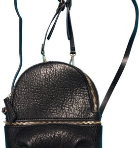 df2794131a4 Zara Crossbody Backpack/ Black Faux Leather Backpack - Tradesy