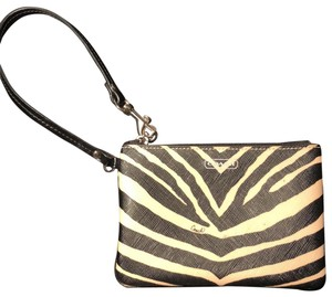 Coach Wristlet in Black White
