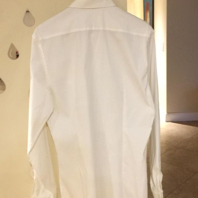 Prada Button Down Shirt white Image 1