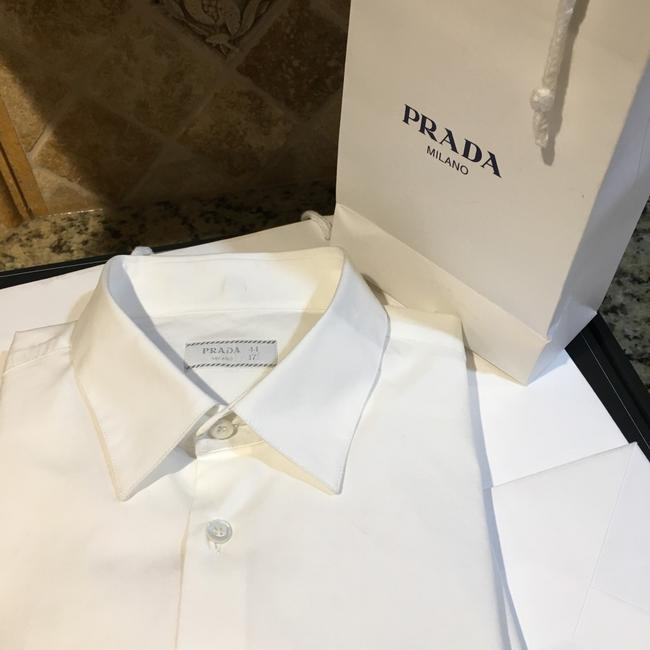 Prada Button Down Shirt white Image 9