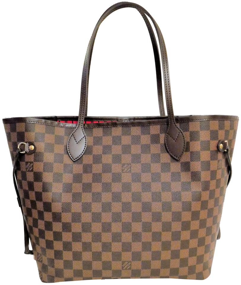 Louis Vuitton Made In France >> Louis Vuitton Neverfull Bag New Made In France Mm Damier Ebene