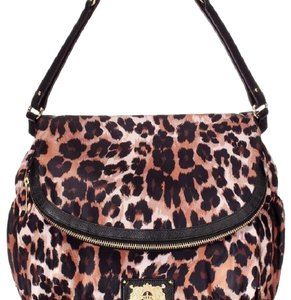 Juicy Couture leopard Diaper Bag