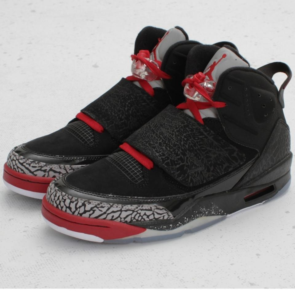 94ebdadea4a Air Jordan Black and Red Son Of Mars 512245 001 Sneakers. Size: US 8 ...