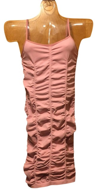 Item - Pink Body-con Mid-length Night Out Dress Size 8 (M)