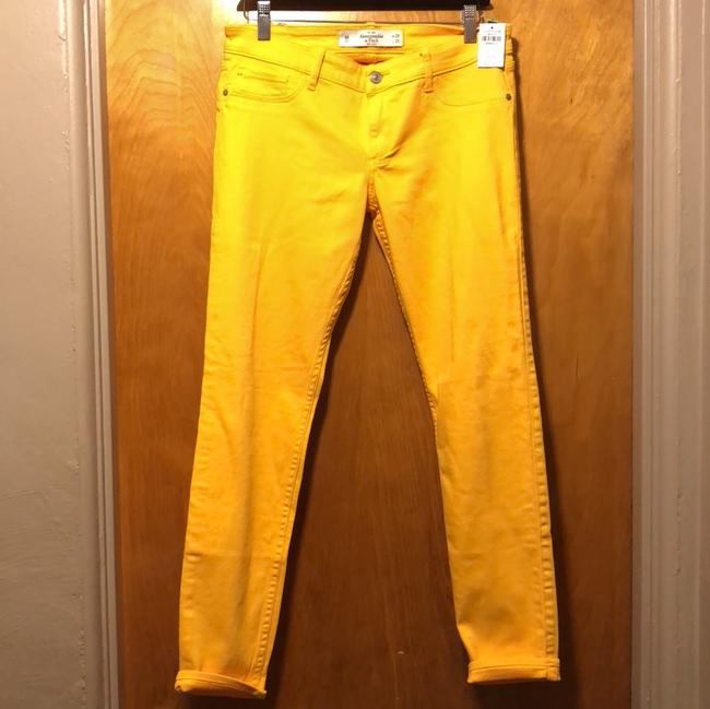 Preload https://img-static.tradesy.com/item/23752412/abercrombie-and-fitch-yellow-colored-skinny-jeans-size-8-m-29-30-0-0-650-650.jpg