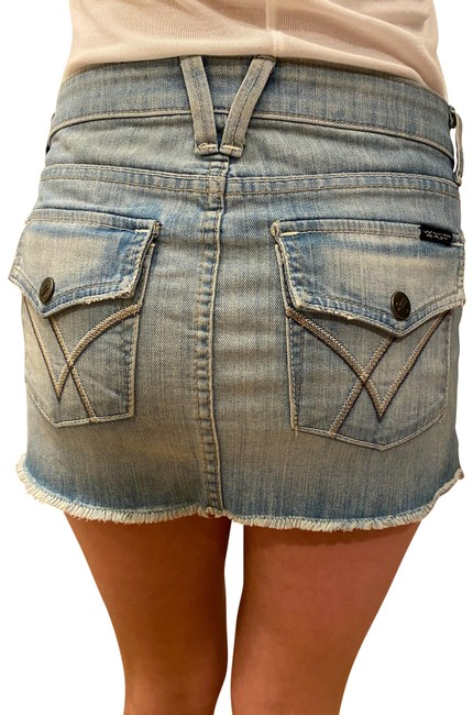 Preload https://img-static.tradesy.com/item/23752427/william-rast-light-blue-jean-skirt-size-2-xs-26-0-3-650-650.jpg