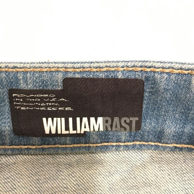 William Rast Mini Skirt Light Blue Image 6