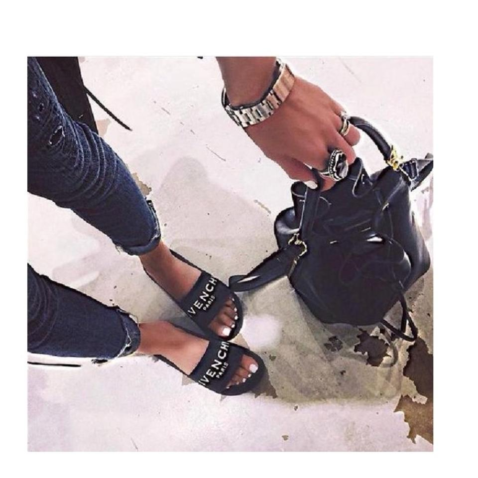 Black Sandals Ready Ship Givenchy To Pool S0d0q