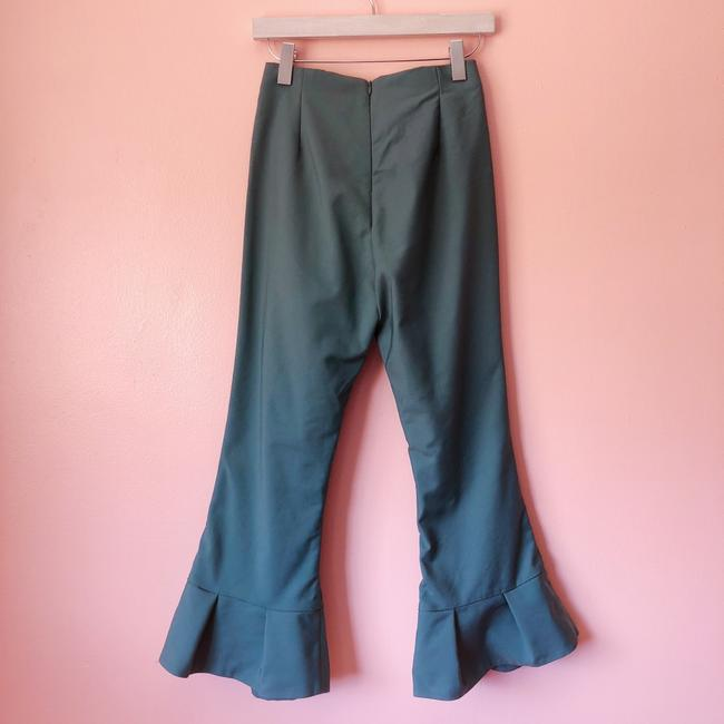 C/MEO Collective Teal Flare Cropped Pants Capri/Cropped Pants Image 3