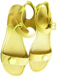 Givenchy 37 Ankle Strap Lime green Sandals