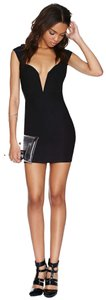 Nasty Gal Plunge Fitted Fun Dress
