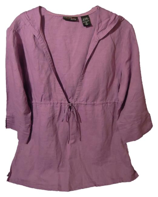 Preload https://item4.tradesy.com/images/new-york-and-company-purplelavendar-23243-hooded-tunic-size-8-m-2375278-0-0.jpg?width=400&height=650