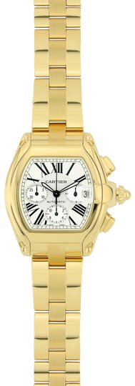 Preload https://img-static.tradesy.com/item/23752832/cartier-yellow-gold-and-white-roadster-47mm-18k-w62021y2-watch-0-1-540-540.jpg