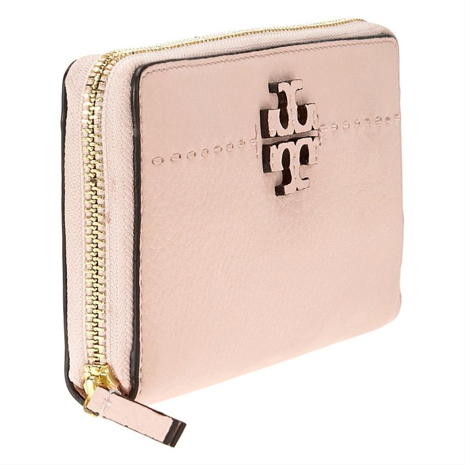 Tory Burch Wallet Wristlet Pink Leather Continental Mcgraw rrxCFBwpq
