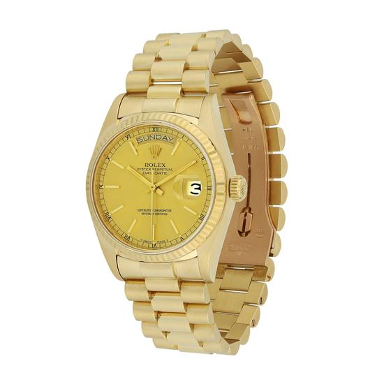 Rolex Rolex Day Date President 36MM 18K Yellow Gold 18038 Image 1