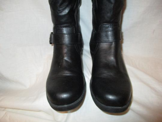 Mossimo Supply Co. Tall Faux Leather Man Made Vegan 001 black Boots Image 6