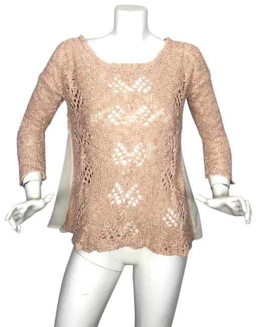 Preload https://img-static.tradesy.com/item/23753088/anthropologie-pink-knitted-tunic-women-sweaterpullover-size-6-s-0-1-650-650.jpg