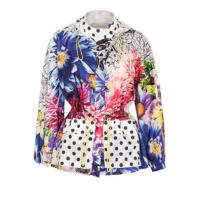 MARY KATRANTZOU Hot pink / Black / White Jacket
