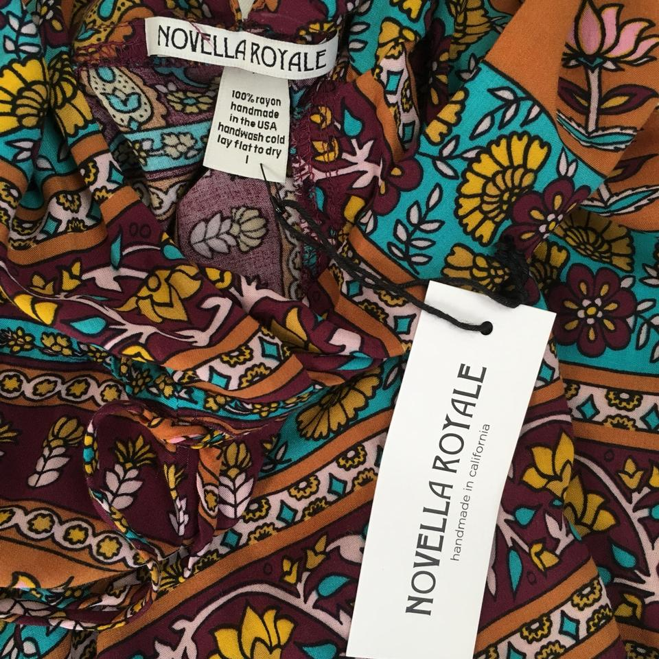 Jumpsuit Romper Ethnic Royale Whiskey Novella nTqCPF7x