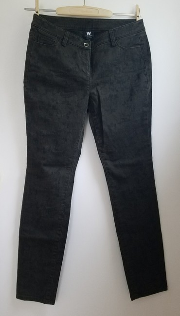 W by Worth Casual Straight Leg Jeans-Distressed Image 2
