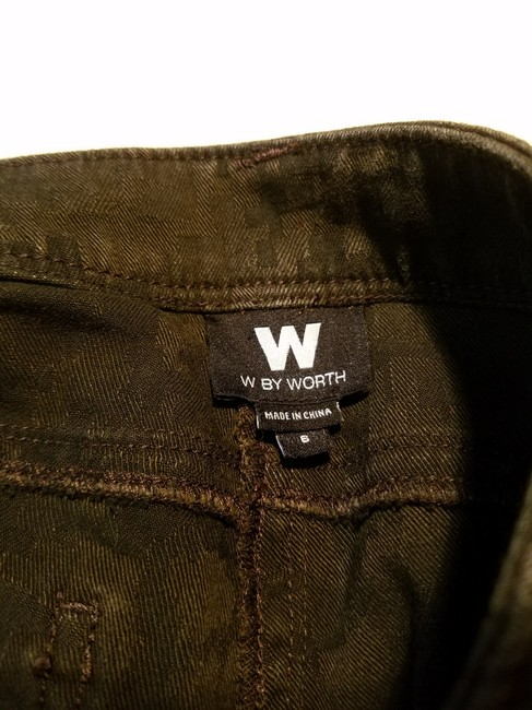 W by Worth Casual Straight Leg Jeans-Distressed Image 7