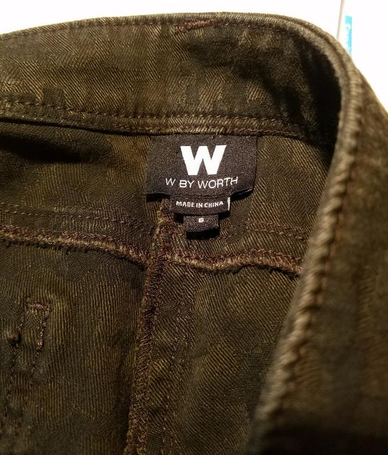 W by Worth Casual Straight Leg Jeans-Distressed Image 8