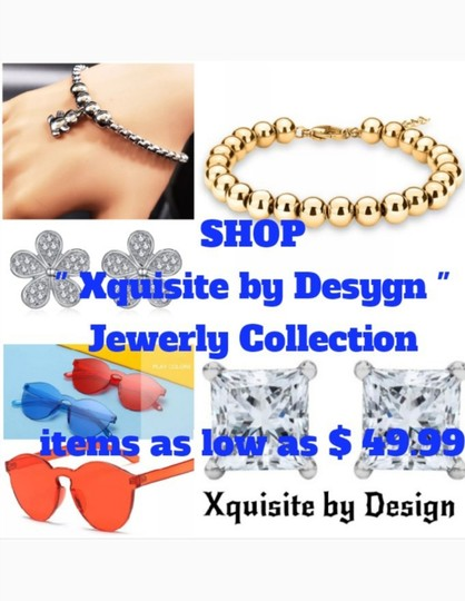 Xquisite by DESIGN FASHION GLITTER LENS SUNGLASSES Image 10