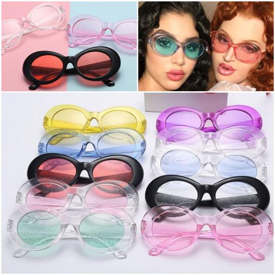 Xquisite by DESIGN FASHION GLITTER LENS SUNGLASSES Image 6