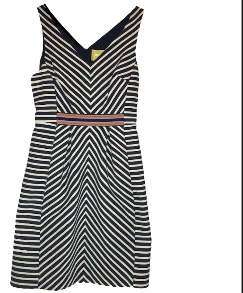 72e5339d1581 Maeve Blue & White Anthropologie Short Night Out Dress Size 2 (XS ...