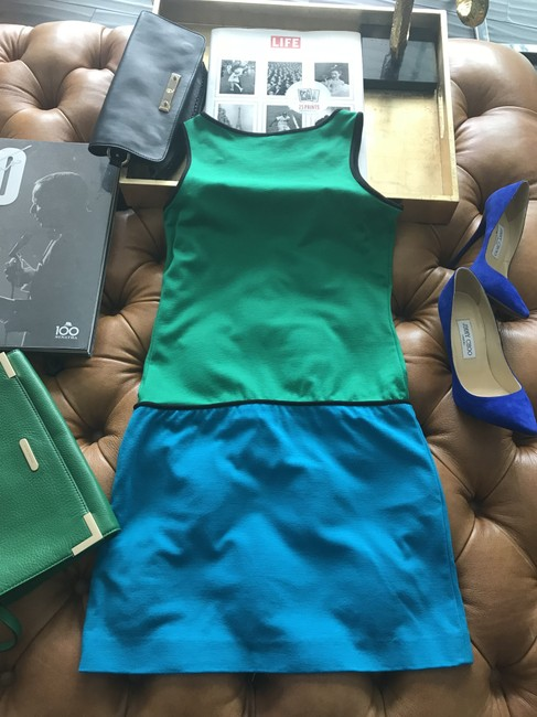 Cynthia Steffe short dress Green/Blue on Tradesy Image 2