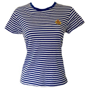 Vintage 90s Retro 1990s Nautical T Shirt blue