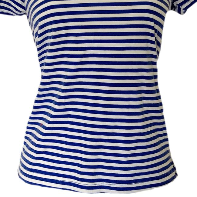 Vintage 90s Retro 1990s Nautical T Shirt blue Image 2