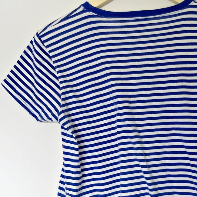 Vintage 90s Retro 1990s Nautical T Shirt blue Image 4