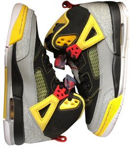 Air Jordan black and yellow Athletic