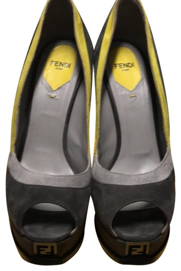 Preload https://img-static.tradesy.com/item/23753784/fendi-grey-fendista-pumps-size-eu-38-approx-us-8-regular-m-b-0-1-540-540.jpg