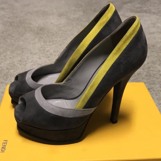 Fendi Grey Pumps Image 1