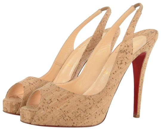 Christian Louboutin Cork Sandals Image 0