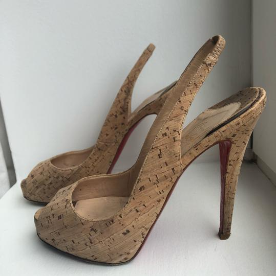 Christian Louboutin Cork Sandals Image 3