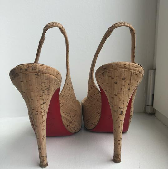 Christian Louboutin Cork Sandals Image 4