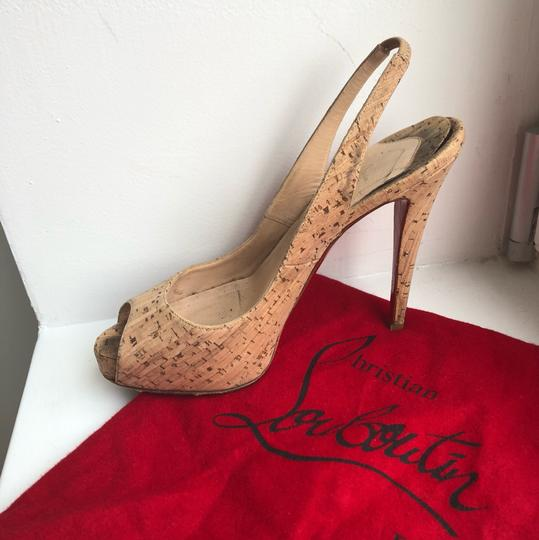 Christian Louboutin Cork Sandals Image 9