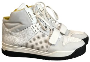 Louis Vuitton White and Yellow Athletic