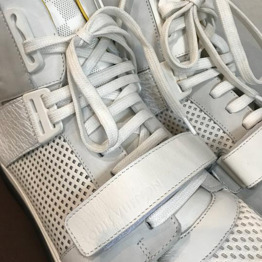 Louis Vuitton White and Yellow Athletic Image 1