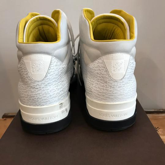 Louis Vuitton White and Yellow Athletic Image 3