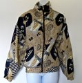 Vintage Retro Yacht 90s 1990s brown Jacket Image 2