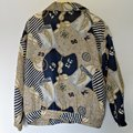 Vintage Retro Yacht 90s 1990s brown Jacket Image 3