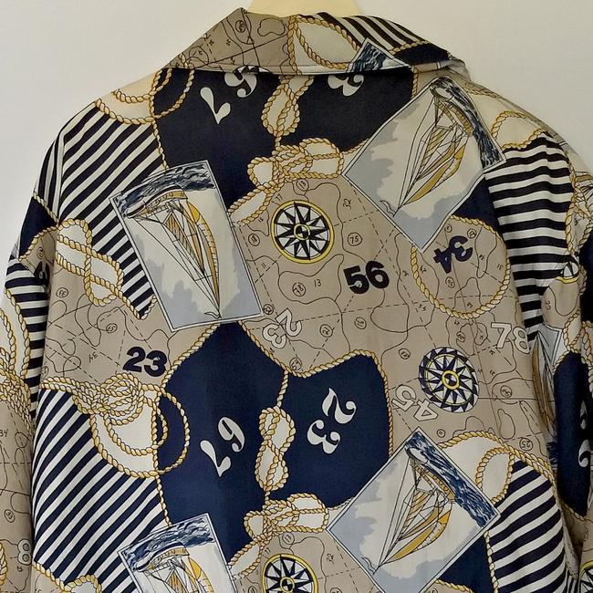 Vintage Retro Yacht 90s 1990s brown Jacket Image 4