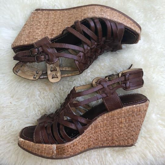 Bed|Stü Brown Wedges Image 1