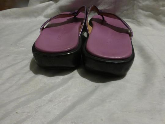LOUIS VUITTON PURPLE SOLE; PURPLE METALLIC Sandals Image 9