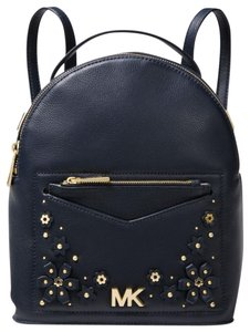 Michael Kors Small Jessa Leather Convertible Backpack