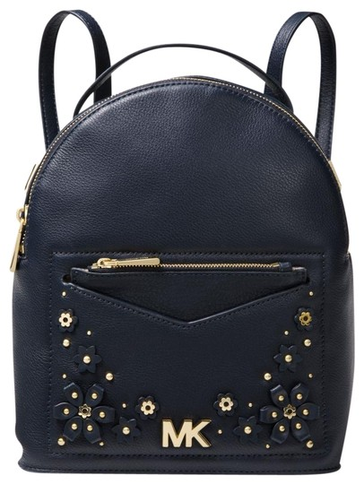 Preload https://img-static.tradesy.com/item/23754057/michael-kors-jessa-small-convertible-blue-leather-backpack-0-3-540-540.jpg
